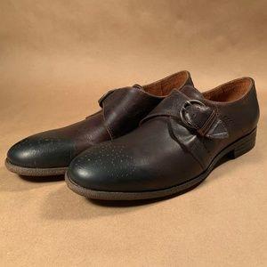Robert Wayne Montana Monk Strap Oxford Shoes